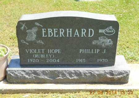 EBERHARD, VIOLET HOPE - St. Joseph County, Michigan | VIOLET HOPE EBERHARD - Michigan Gravestone Photos