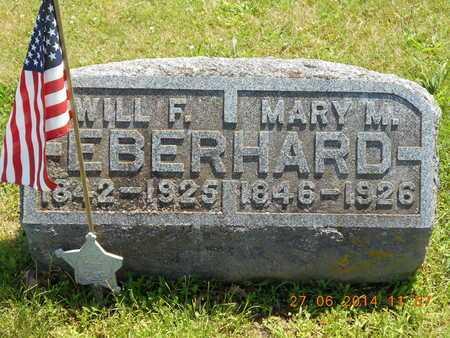EBERHARD, MARY M. - St. Joseph County, Michigan | MARY M. EBERHARD - Michigan Gravestone Photos