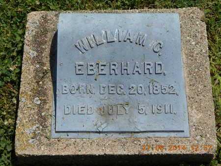 EBERHARD, WILLIAM C. - St. Joseph County, Michigan | WILLIAM C. EBERHARD - Michigan Gravestone Photos