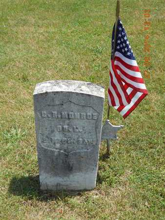 MONROE, CHARLES R. - St. Joseph County, Michigan | CHARLES R. MONROE - Michigan Gravestone Photos