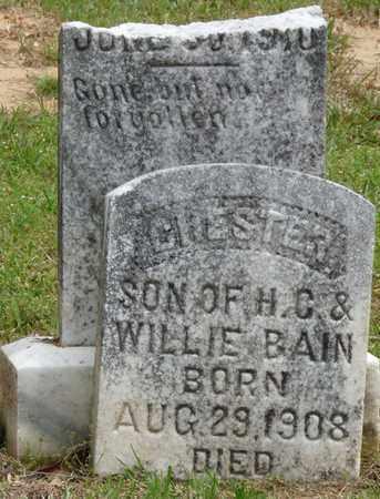 BAIN, CHESTER - Alcorn County, Mississippi | CHESTER BAIN - Mississippi Gravestone Photos