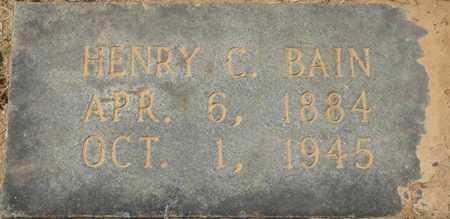BAIN, HENRY C - Alcorn County, Mississippi   HENRY C BAIN - Mississippi Gravestone Photos