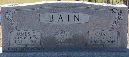 BAIN, OMA INEZ - Alcorn County, Mississippi | OMA INEZ BAIN - Mississippi Gravestone Photos