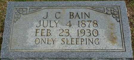 BAIN, J.C. - Alcorn County, Mississippi | J.C. BAIN - Mississippi Gravestone Photos
