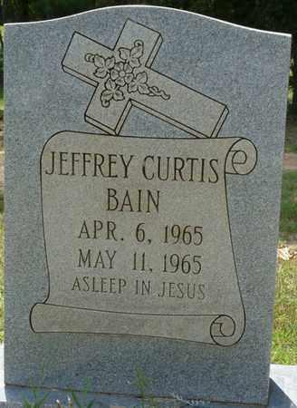 BAIN, JEFFREY CURTIS - Alcorn County, Mississippi | JEFFREY CURTIS BAIN - Mississippi Gravestone Photos