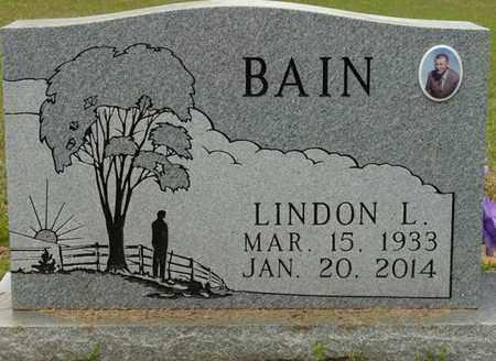 BAIN, LINDON L - Alcorn County, Mississippi | LINDON L BAIN - Mississippi Gravestone Photos