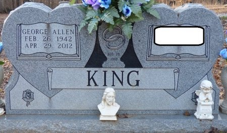KING, GEORGE ALLEN - Alcorn County, Mississippi | GEORGE ALLEN KING - Mississippi Gravestone Photos