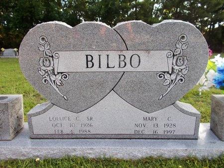 BILBO, MARY C - Hancock County, Mississippi | MARY C BILBO - Mississippi Gravestone Photos