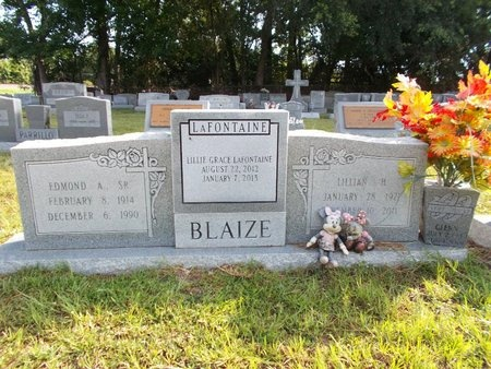LAFONTAINE, LILLIE GRACE - Hancock County, Mississippi | LILLIE GRACE LAFONTAINE - Mississippi Gravestone Photos