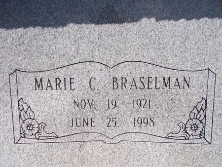 BRASELMAN, MARIE C - Hancock County, Mississippi | MARIE C BRASELMAN - Mississippi Gravestone Photos