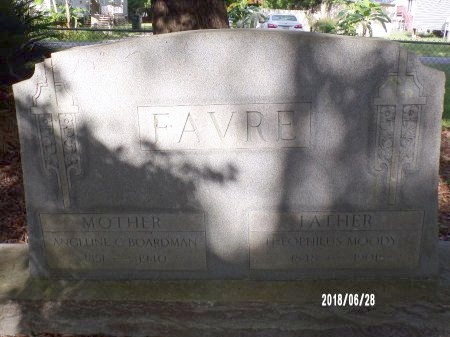 FAVRE, THEOPHILUS MOODY - Hancock County, Mississippi | THEOPHILUS MOODY FAVRE - Mississippi Gravestone Photos