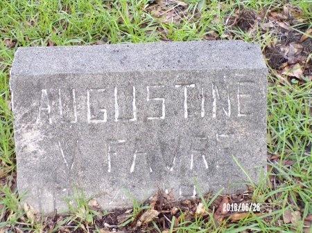 FAVRE, AUGUSTINE V - Hancock County, Mississippi | AUGUSTINE V FAVRE - Mississippi Gravestone Photos