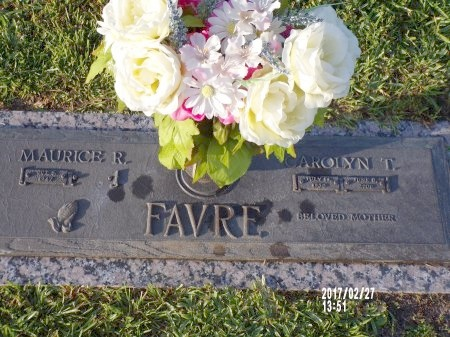 FAVRE, CAROLYN - Hancock County, Mississippi | CAROLYN FAVRE - Mississippi Gravestone Photos