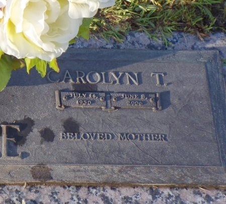FAVRE, CAROLYN (CLOSE UP) - Hancock County, Mississippi | CAROLYN (CLOSE UP) FAVRE - Mississippi Gravestone Photos