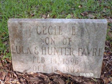 FAVRE, CECIL E - Hancock County, Mississippi | CECIL E FAVRE - Mississippi Gravestone Photos