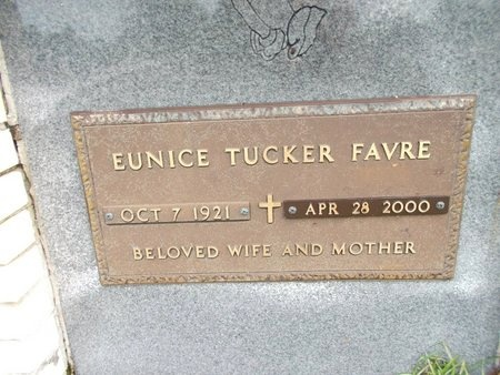 FAVRE, EUNICE - Hancock County, Mississippi | EUNICE FAVRE - Mississippi Gravestone Photos