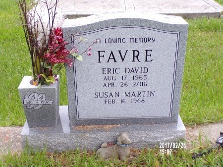 FAVRE, ERIC DAVID (OBIT) - Hancock County, Mississippi | ERIC DAVID (OBIT) FAVRE - Mississippi Gravestone Photos