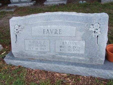 FAVRE, HAROLD J - Hancock County, Mississippi | HAROLD J FAVRE - Mississippi Gravestone Photos