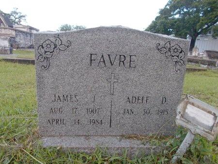 FAVRE, JAMES J - Hancock County, Mississippi   JAMES J FAVRE - Mississippi Gravestone Photos