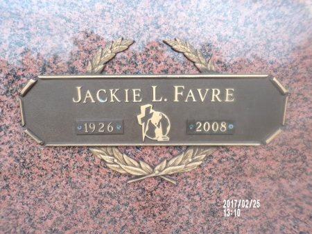 FAVRE, JACKIE L - Hancock County, Mississippi   JACKIE L FAVRE - Mississippi Gravestone Photos