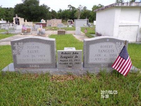 "FAVRE, JOSEPH ""BAMA"" - Hancock County, Mississippi   JOSEPH ""BAMA"" FAVRE - Mississippi Gravestone Photos"