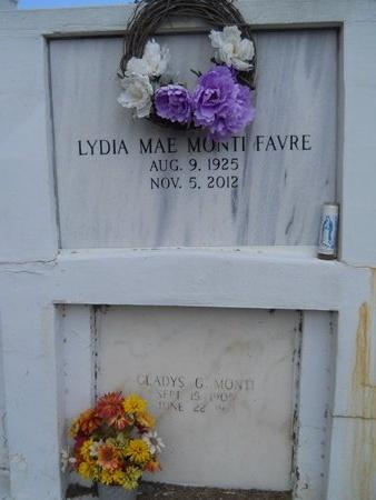 FAVRE, LYDIA MAE - Hancock County, Mississippi | LYDIA MAE FAVRE - Mississippi Gravestone Photos