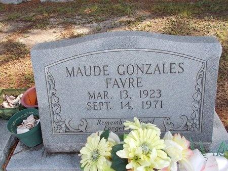 FAVRE, MAUDE - Hancock County, Mississippi   MAUDE FAVRE - Mississippi Gravestone Photos
