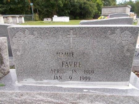 FAVRE, MAMIE C - Hancock County, Mississippi | MAMIE C FAVRE - Mississippi Gravestone Photos