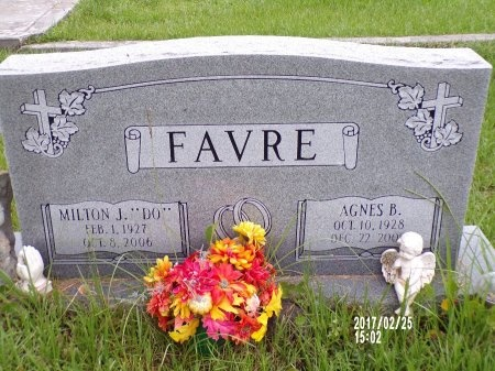 "FAVRE, MILTON J ""DO"" - Hancock County, Mississippi 