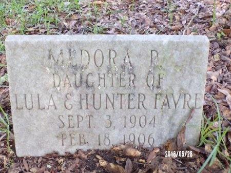 FAVRE, MEDORA P - Hancock County, Mississippi | MEDORA P FAVRE - Mississippi Gravestone Photos