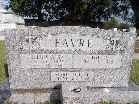 FAVRE, MARIE LOUISE - Hancock County, Mississippi | MARIE LOUISE FAVRE - Mississippi Gravestone Photos