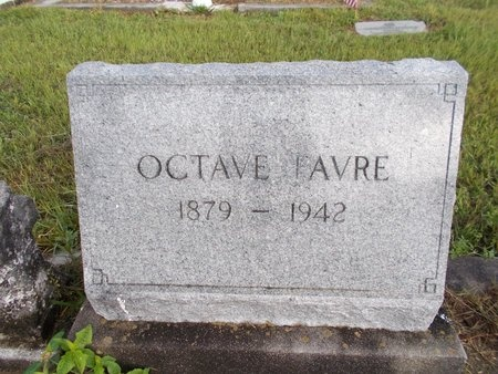 FAVRE, OCTAVE - Hancock County, Mississippi | OCTAVE FAVRE - Mississippi Gravestone Photos