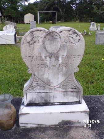 FAVRE, STANLEY W - Hancock County, Mississippi   STANLEY W FAVRE - Mississippi Gravestone Photos
