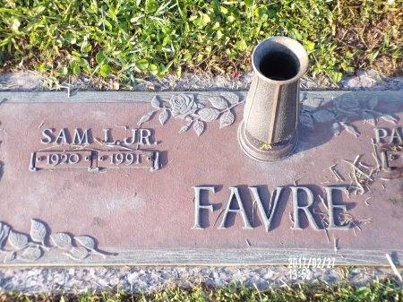FAVRE, SAM L., JR - Hancock County, Mississippi | SAM L., JR FAVRE - Mississippi Gravestone Photos