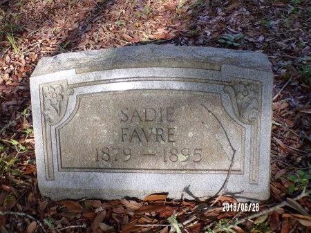 FAVRE, SADIE - Hancock County, Mississippi | SADIE FAVRE - Mississippi Gravestone Photos