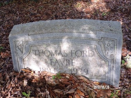 FAVRE, THOMAS FORD - Hancock County, Mississippi | THOMAS FORD FAVRE - Mississippi Gravestone Photos