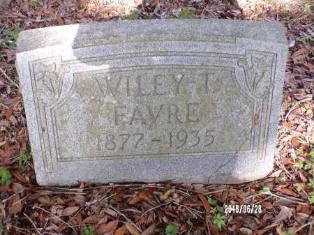 FAVRE, WILEY T - Hancock County, Mississippi | WILEY T FAVRE - Mississippi Gravestone Photos