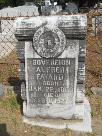 FAYARD, ALFRED - Hancock County, Mississippi   ALFRED FAYARD - Mississippi Gravestone Photos