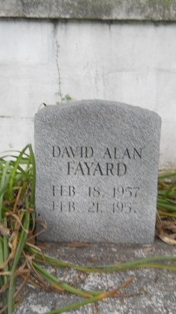 FAYARD, DAVID ALAN - Hancock County, Mississippi   DAVID ALAN FAYARD - Mississippi Gravestone Photos