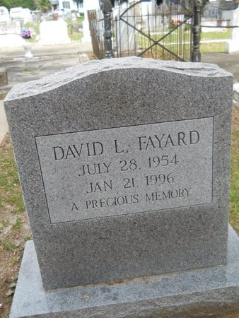 FAYARD, DAVID L - Hancock County, Mississippi | DAVID L FAYARD - Mississippi Gravestone Photos