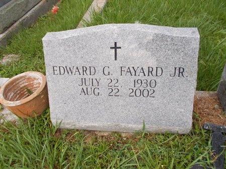 FAYARD, EDWARD G., JR - Hancock County, Mississippi | EDWARD G., JR FAYARD - Mississippi Gravestone Photos