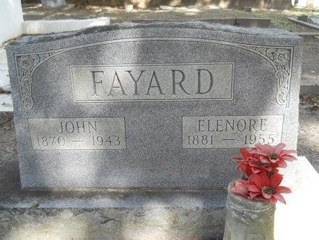FAYARD, JOHN - Hancock County, Mississippi | JOHN FAYARD - Mississippi Gravestone Photos