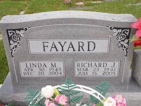 FAYARD, RICHARD J - Hancock County, Mississippi | RICHARD J FAYARD - Mississippi Gravestone Photos