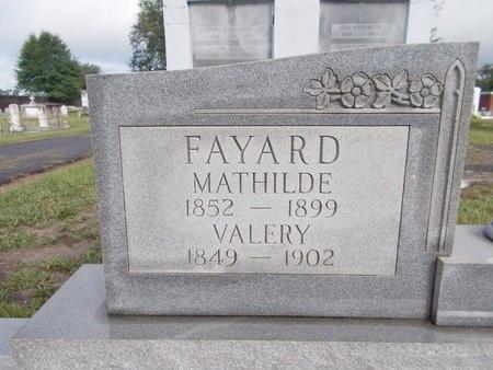 FAYARD, VALERY - Hancock County, Mississippi   VALERY FAYARD - Mississippi Gravestone Photos