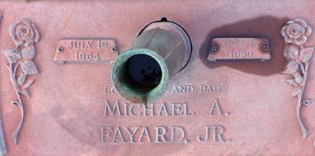 FAYARD, MICHAEL A., JR (CLOSE UP) - Hancock County, Mississippi | MICHAEL A., JR (CLOSE UP) FAYARD - Mississippi Gravestone Photos