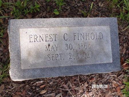 FINHOLD, ERNEST C - Hancock County, Mississippi | ERNEST C FINHOLD - Mississippi Gravestone Photos