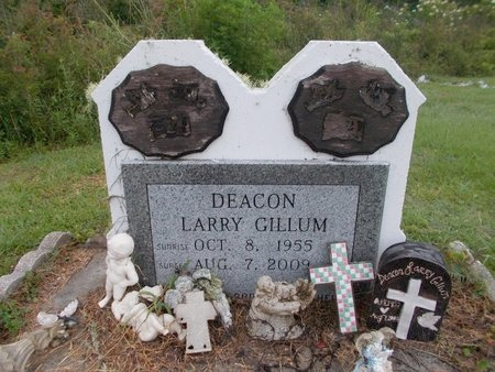 GILLUM, LARRY - Hancock County, Mississippi | LARRY GILLUM - Mississippi Gravestone Photos