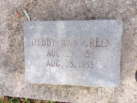 GREEN, DEBBY ANN - Hancock County, Mississippi | DEBBY ANN GREEN - Mississippi Gravestone Photos