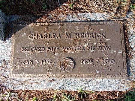 HEDRICK, CHARLEA M - Hancock County, Mississippi   CHARLEA M HEDRICK - Mississippi Gravestone Photos
