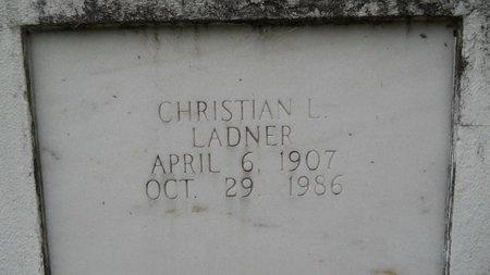 LADNER, CHRISTIAN L - Hancock County, Mississippi | CHRISTIAN L LADNER - Mississippi Gravestone Photos